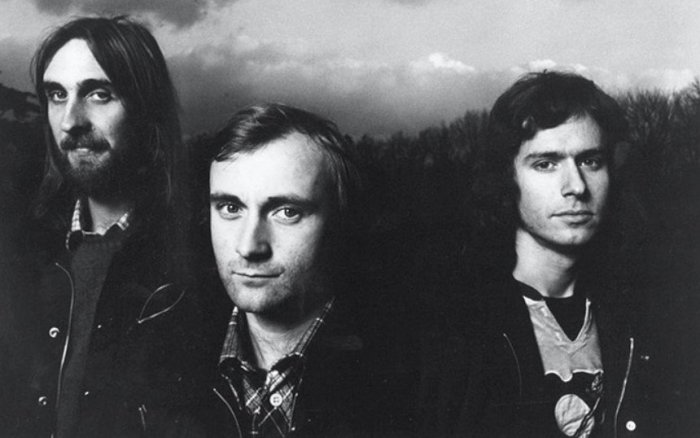 genesis band throwback photo