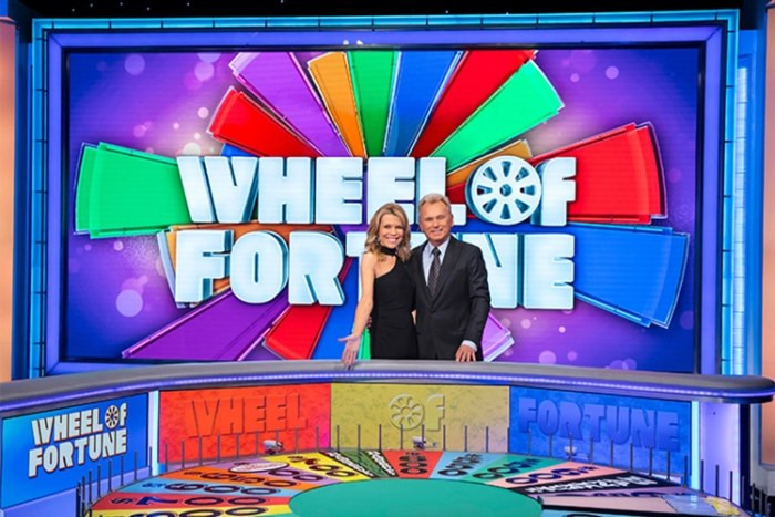 wheel of fortune pat sajak vanna white