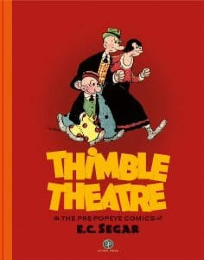 Both Popeye and the concept behind Eugene hailed from Thimble Theatre, known for outrageous concepts and slapstick