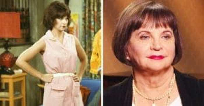 Cindy Williams then and now