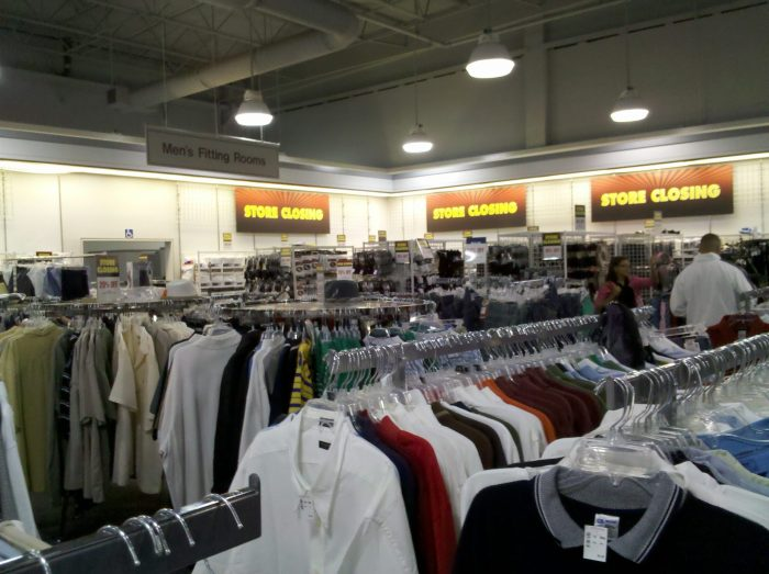 jc penney store closing sale