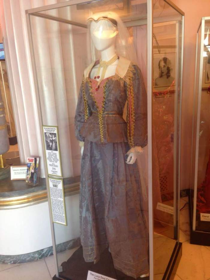 lucille ball costume the hollywood museum