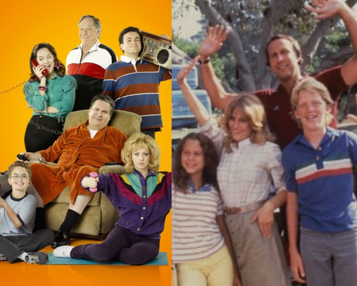 'The Goldbergs' and 'National Lampoon's Vacation'.