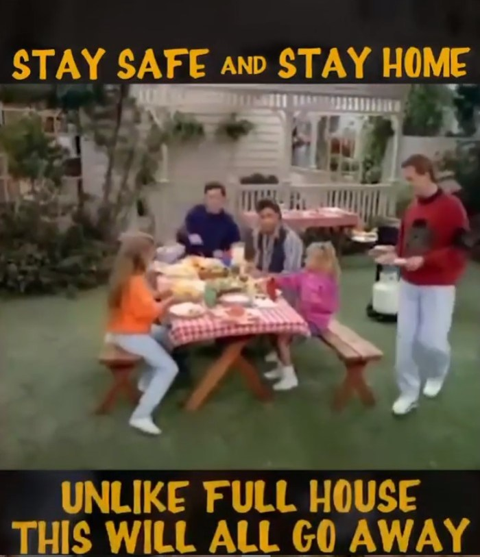 full house cast stay safe stay home