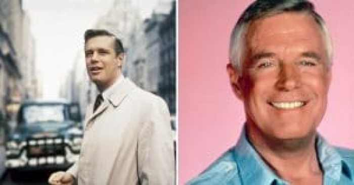 George Peppard before and after joining the cast of The A-Team
