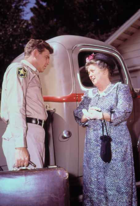 ANDY GRIFFITH SHOW, Andy Griffith, Frances Bavier, 1960-1968