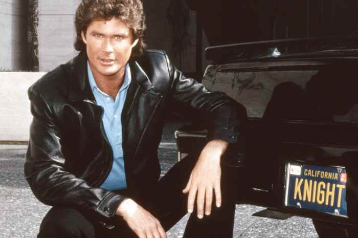 David Hasselhoff Auctioning Off Personal K.I.T.T. Car From 'Knight Rider' Series