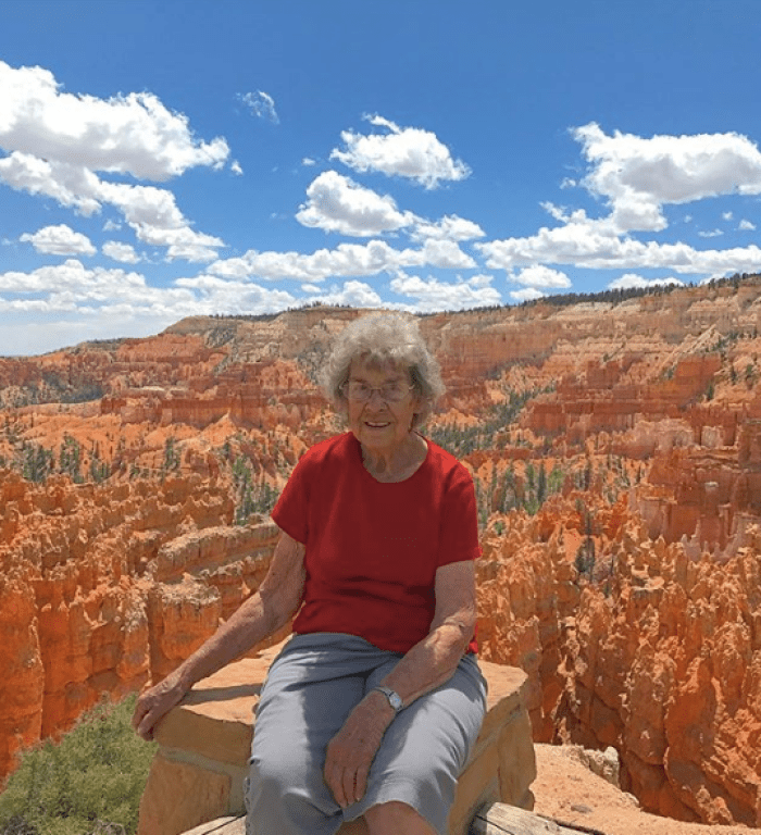 grandson takes grandma to all national parks