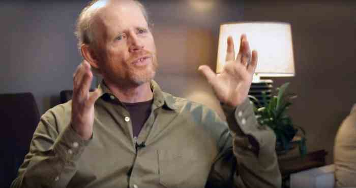 LADDIE: THE MAN BEHIND THE MOVIES, Ron Howard, director, 2017