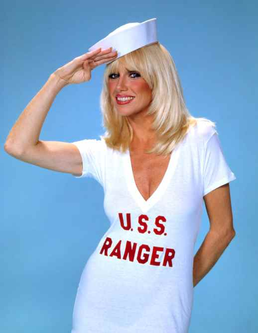 SECOND ANNUAL NATIONAL COLLEGIATE CHEERLEADING CHAMPIONSHIPS, THE, Suzanne Somers, c. 1980s