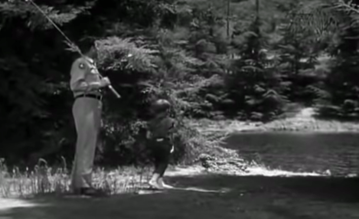andy griffith show opening credits