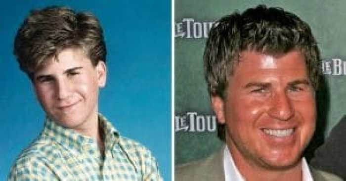 Jason Hervey then and now