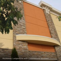 Ply Gem manufactured stone on Regal Cinemas
