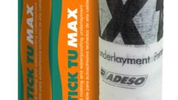 Polystick TU Max underlayment