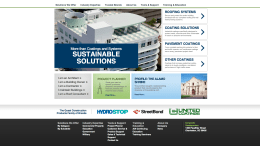 Quest Construction Products' redesigned website