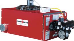 Clean Burn used-oil furnace