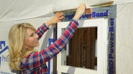 MFM Building Products' window flashing tape, WindowWrap PowerBond