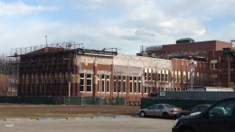 Renovation at a Chicago Public School