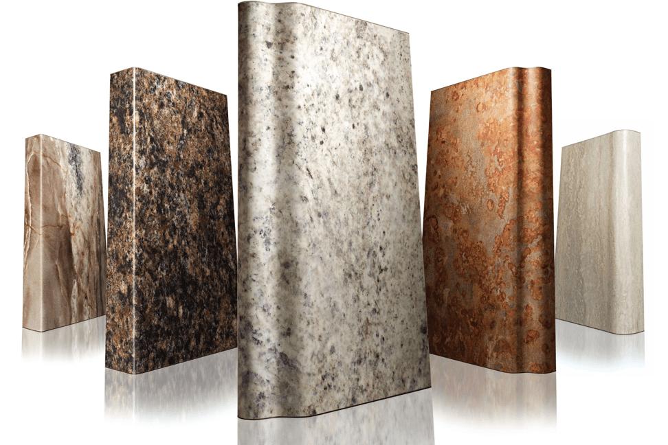 Laminate Countertop Resembles Granite Retrofit
