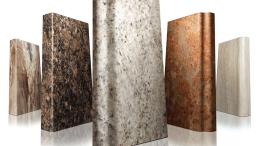 VT Industries' VT Dimensions granite-like countertops
