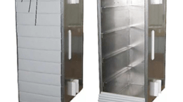 Butler Mobility's dumbwaiter features a strong Dual Guard Car Gate to protect contents.