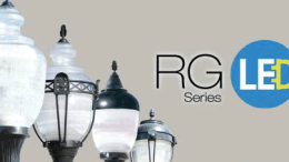 New post top LED luminaires from Antique Street Lamps