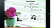 The Art of Window Dressing? iPad App from Hunter Douglas