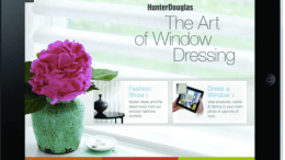 The Art of Window Dressing? iPad App from Hunter Douglas