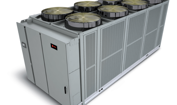 Air-cooled Chiller Offers Low Sound Levels - retrofit
