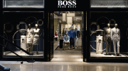 Hugo Boss retail stores underwent lighting upgrades