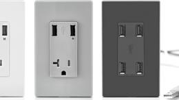 Leviton's 4-Port USB Charger