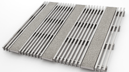 Hendrick Architectural Products' Profile Bar anti-slip entrance grating