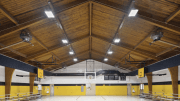 Surry County School District in western North Carolina projects an annual savings of almost $1,350, just from relighting one gymnasium in the district with LED luminaires.