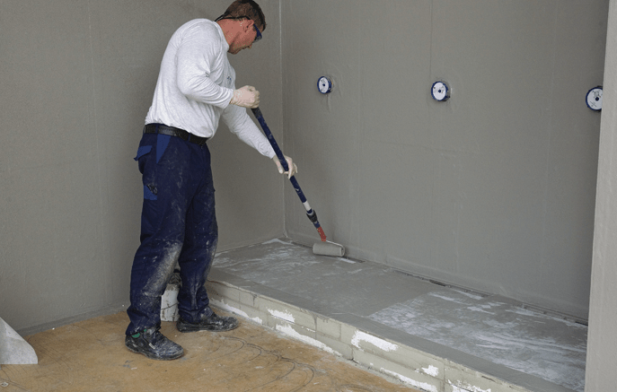 Kemper System America introduces KEMPEROL 022, a solvent-free, reinforced, liquid-membrane waterproofing system for protecting indoor areas under ceramic tiles.