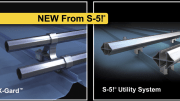 S-5! has announced its two newest innovations: The X-Gard pipe snow retention system and the S-5! Utility System.
