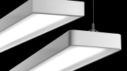 Peerless' Staple LED suite of suspended and wall-mount luminaires