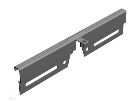 ROCKFON introduces Chicago Metallic 1494 SSC seismic separation joint clip