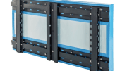 Knight Wall Systems has introduced a new horizontal-girt rainscreen attachment system called HCI-System that enables ASHRAE 90.1-compliant continuous insulation with vertical cladding.