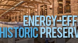 energy efficient historic preservation