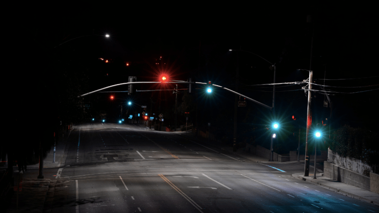 After: San Luis Obispo upgraded almost the entire city with 2,165 Cree XSP Series LED street lights.