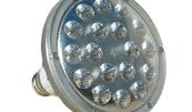 Larson Electronics' 25-watt PAR38 LED bulb