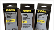 AMES Taping Tools now offers several high-quality abrasive tools including sanding sponges, discs and pre-cut sheets as part of its extensive supply of drywall merchandise and equipment.