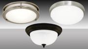 MaxLite's LED Flush Mount Ceiling Fixtures.
