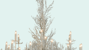 Meyda Custom Lighting's new 72-watt Coral 18-Light Chandelier