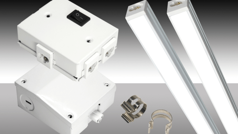 MaxLite has enhanced the flexibility of its Plug-and-Play LED Lightbars