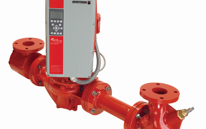 Armstrong Fluid Technology has announced that its innovative Design Envelope pumps are now also available for use with single phase power.