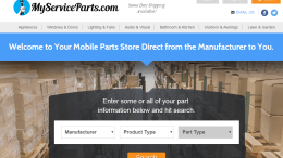 MyServiceParts.com offers the opportunity to purchase service parts from their smartphone, tablet or laptop and have them delivered directly to any job site.