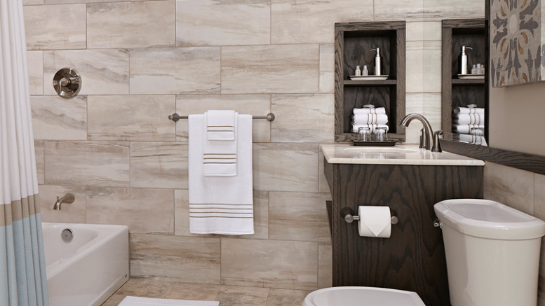 Bathroom Collection Offers Water Saving Performance And Easy - Water-saving-set-for-the-bathroom