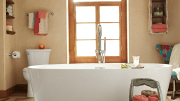 American Standard introduces three freestanding tubs.