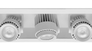 The update to Amerlux's Hornet HP-A14 LED light engine provides better maintained lumens and consistent color rendering verses integrated LED lamps available, as well as enhanced control, dimmability and longer lifespan.